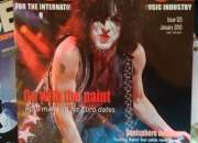 Colección revista AUDIENCE, la mas importante del mundo en conciertos.