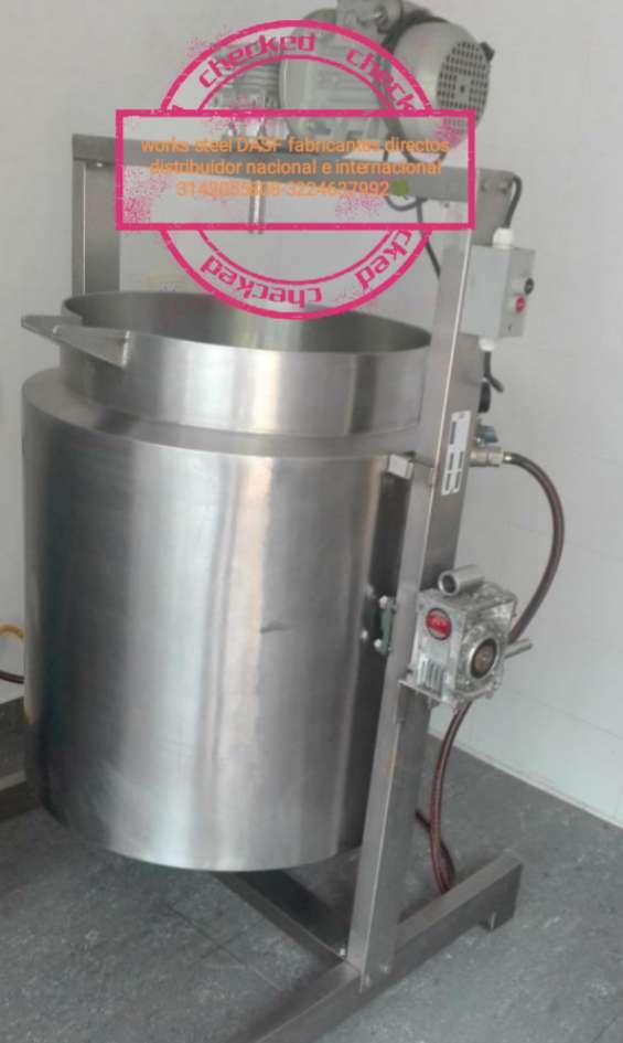 Pasteurizador-marmitas