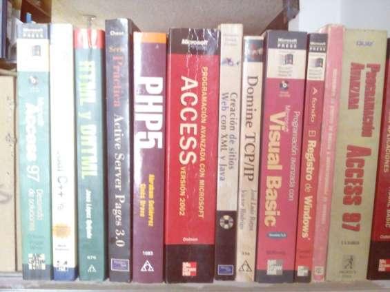Libros computación sistemas escucho ofertas