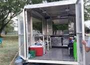 Se vende food truck.