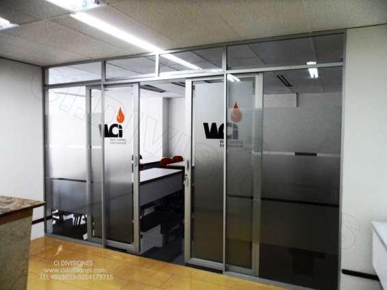 Divisiones, mobiliario para oficina fabrica