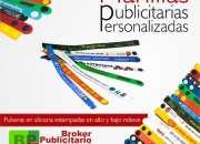 MANILLAS PUBLICITARIAS EN PVC, 1 A 4 COLORES, ALTO Y BAJO RELIEVE