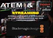 Wifi streaming proyección sonido video animación edición