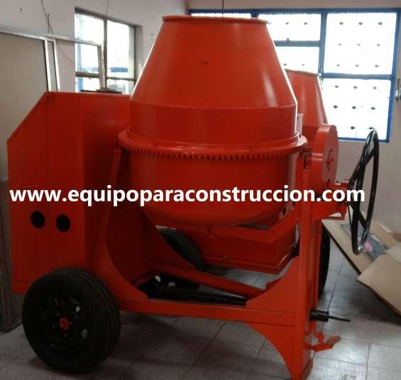 Mezcladora para concreto dos bultos jd - diésel