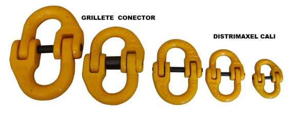 Grillete doble conector