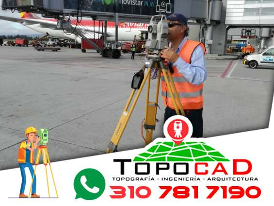 Servicios de levantamientos topográficos e ingeniería topográfica