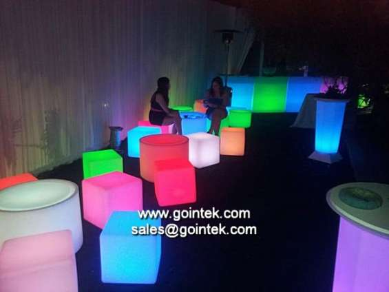 Muebles luminación led,cubo led