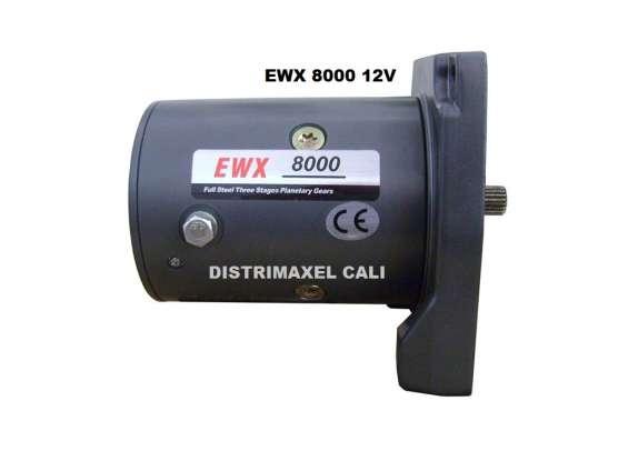 Motor  eléctrico 12v y 24v para winche cabrestante  en cali