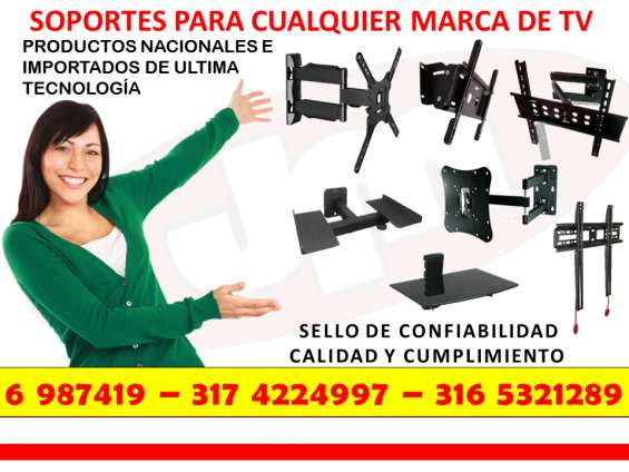 Soportes y bases para tv en bucaramanga, giron , floridablanca, piedecuesta