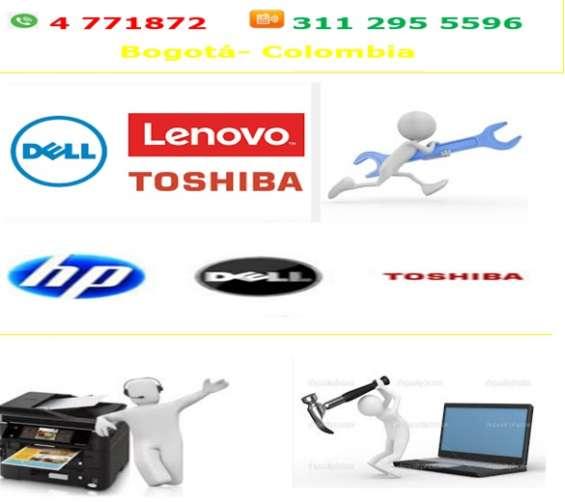 Servicio técnico de computadores e impresoras, adaptación sistema continuo