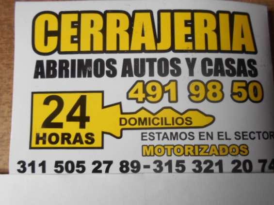 Cerrajeria chapinero 315-3212074