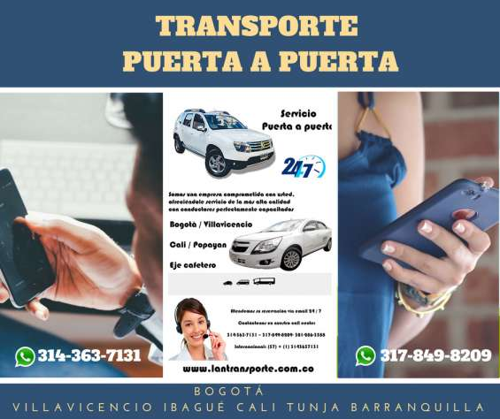 Servicio transporte especial transfer aeropuerto autos vans bus 3143637131