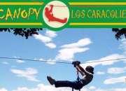 Canopy los caracolíes, eco aventura -