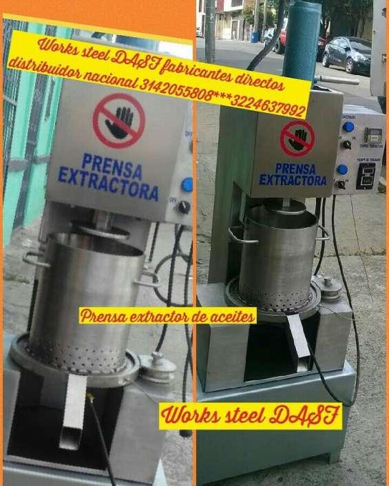 Extractora de aceites