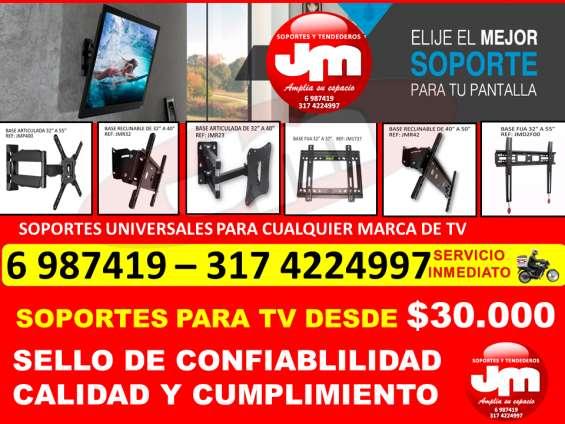 Soportes y bases para tv en bucaramanga