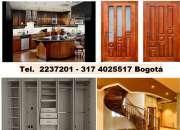 Closeres Bogota, Fabricamos e instalamos  carpintería estructural y arquitectóni