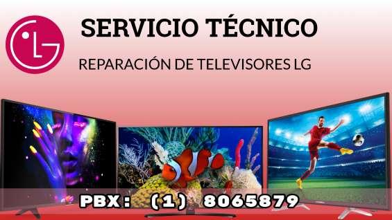 Reparación de televisores lg a domicilio en bogotá