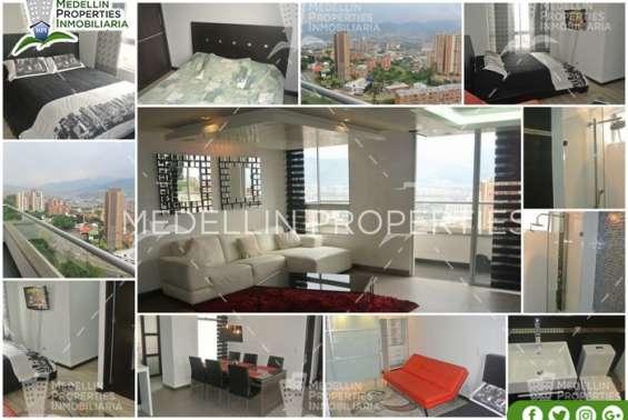 Alquiler temporal de apartamentos en medellín cód: 4579 amoblados baratos en medellín