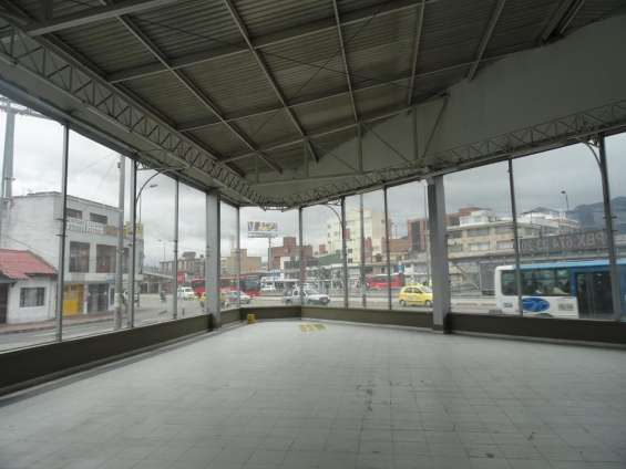 Área vitrina comercial