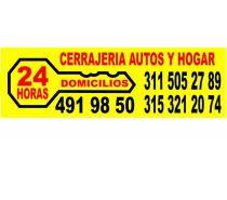 Cerrajeria bogota  311 5052789