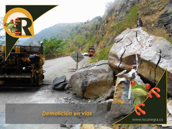 Demolición de rocas