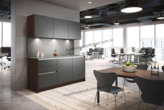 Cocinas y cocinetas para oficina