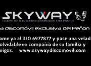 Servicio de DJ en El Peñón, alquiler de sonido y luces en El Peñon
